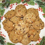 Cookies Serving Closeup